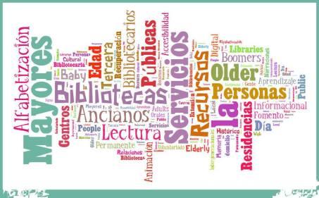 Servicios bibliotecarios para y con personas mayores