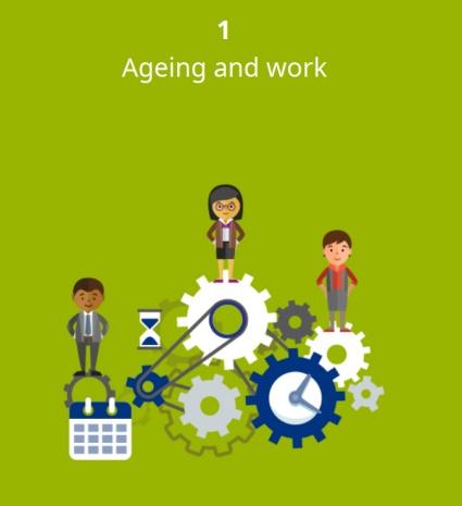 Trabajos saludables en cada edad