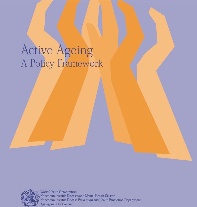 """Veinte años de """"envejecimiento activo"""", una visión optimista de la vejez. (""""I hope I die before get old"""")"""
