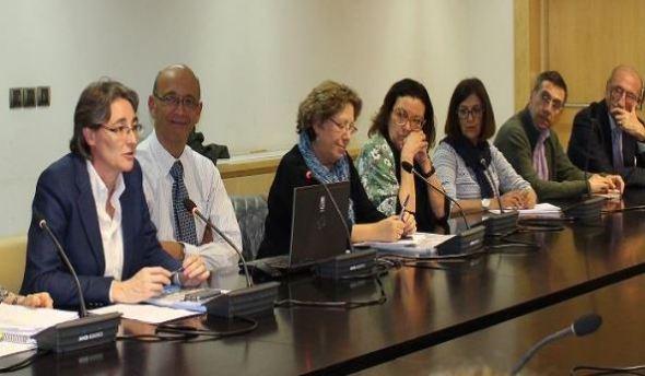 Marta Higueras, primera Teniente de Alcalde del Ayuntamiento de Madrid concejala de Equidad, Derechos Sociales y Empleo, clausuró el acto.