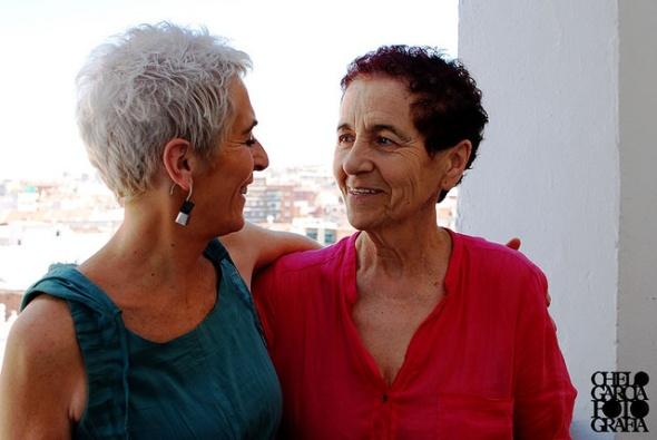 Empar y Cristina, foto Fundacion26d